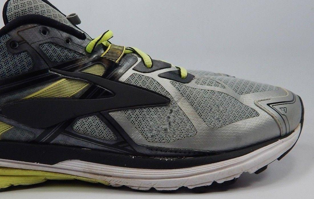Brooks Ravenna 7 Size US 13 M (D) EU 47.5 Men's Running Shoes Silver 1102711D116