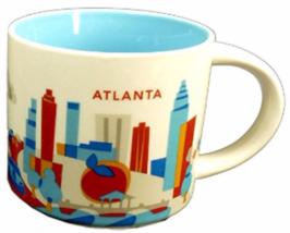 Starbucks Atlanta, Georgia You Are Here Collection Coffee Mug NEW IN BOX - $46.60