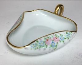 VTG Hand Painted Royal Crescent China Handled Nappy Dish / Hand Painted ... - $34.64