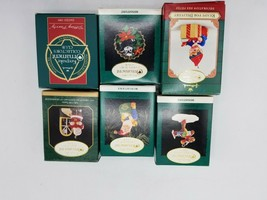 Hallmark Keepsake Ornament Lot - 6 pcs - $5.89