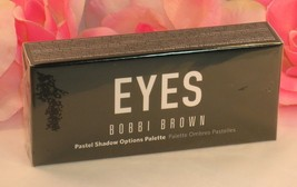 New Bobbi Brown Pastel Shadow Options Pallette 8 Eye Shadows Pink Blue E... - $34.99