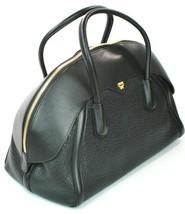 MCM Bowler Bag Black Marion Leather Large - $662.58