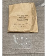 NEW OEM 1960 1961 1962 AMC RAMBLER CLASSIC REBEL AMBASSADOR WESTCLOX DIAL - $20.00