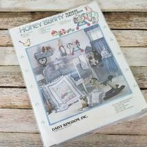 Daisy Kingdom Honey Bunny Quilt Top Ruffle Kit Baby Nursery Collection V... - $14.85