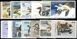 RW39-50, 12 Different Mint VF NH Duck Stamps FACE $72.50 - Stuart Katz - $65.00