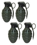 4 Green Toy Pineapple Hand Grenades with Sound Effects - $11.99