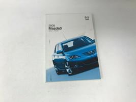 2005 Mazda 3 Owners Manual Warranty Guide Handbook OEM Z0A0624 - $15.83