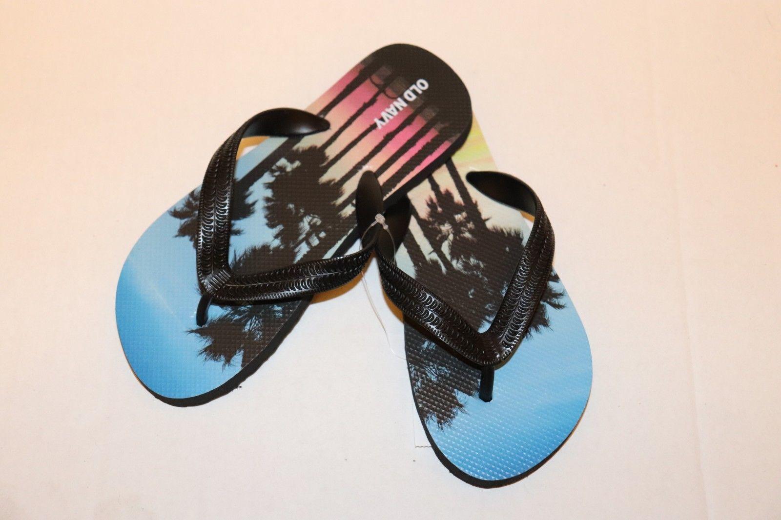 Old Navy Boys Flip Flops Shoes Size 12-13