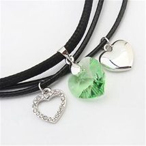SHDEDE Fashion Jewelry Necklaces Pendants Vintage Heart Crystal from Swarovski H image 5