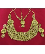 Ethnic Indian Traditional Gold Tone Bollywood Bridal Wedding Fashion Jew... - $29.45
