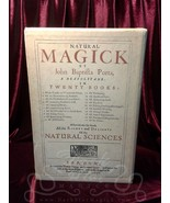 NATURAL MAGICK John Baptista Porta w/ slipcase VG alchemy occult grimoir... - $148.49