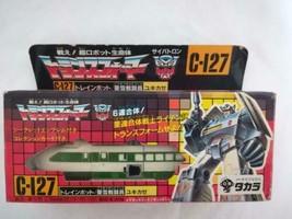 Takara Transformers C-127 Trainbot Yukikaze 1987 Vintage Figurine Utilis... - $289.34