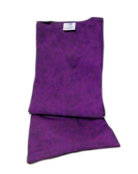 Purple Scrub Set Large V Neck Top Drawstring Pants Unisex Adar Uniforms New image 5