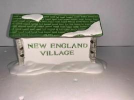 Department 56 New England Village New England Village Sign - $8.00