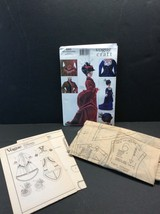 Vogue Craft Fashion Doll Sewing Pattern 7100 685 Historical Clothes 11.5... - $11.88