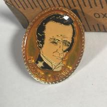"William B Travis Lapel Pin Hat Pin 1"" Metal Pin - $14.99"