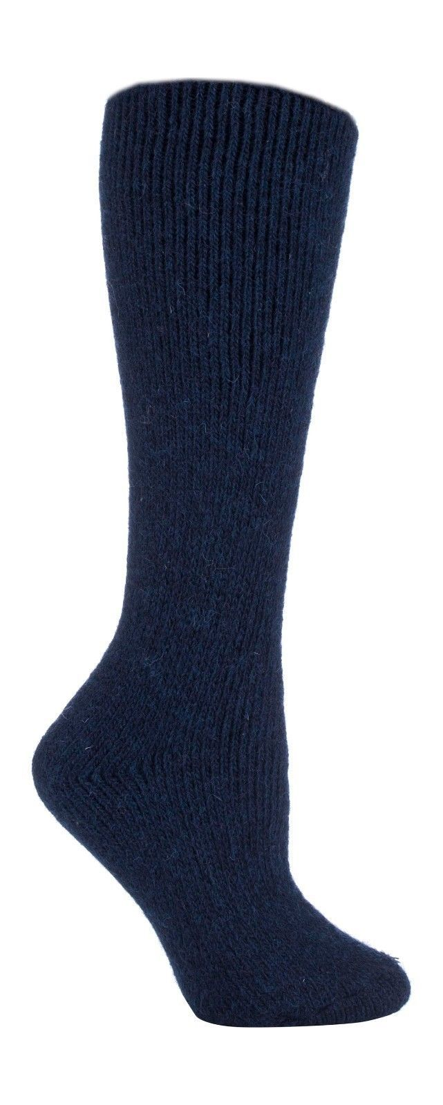 Heat Holders - Womens Thick Winter LONG Wool Knee High Thermal Socks 6 Colors