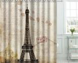 F shower curtain paris bathroom decor scenery decoration cortina de bano 2017 bath thumb155 crop