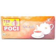 Cap Poci Teh Asli - Black Tea Bag 25-ct, 50 Gram (Pack of 5) - $42.86
