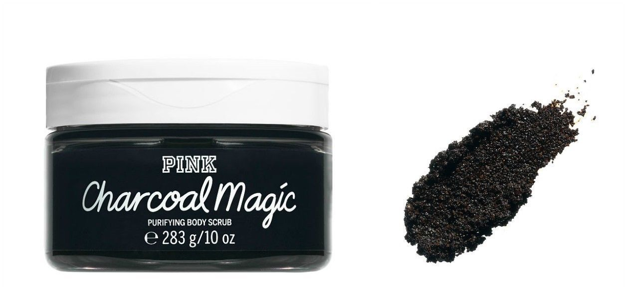 Primary image for PINK Charcoal Magic 10.0 Ounces Purifying Body Scrub