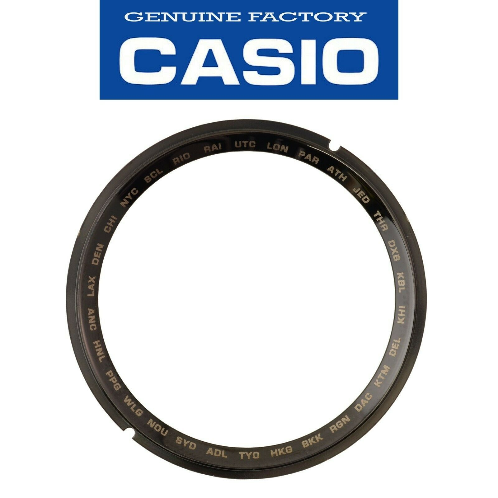 Primary image for Genuine CASIO G-SHOCK Watch Band Bezel Shell Inner Black GWG-1000-1A