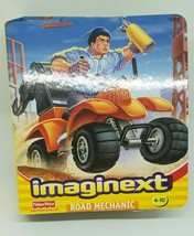 2002 Imaginext Fisher Price Road Mechanic New Factory Sealed - $32.71