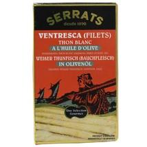 Albacore White Tuna Ventresca in Olive Oil - 25 tins - 4 oz ea - $493.50