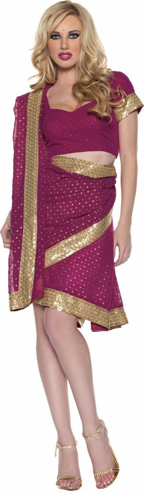 Underwraps Indio Bollywood Reina Adulto Disfraz Halloween
