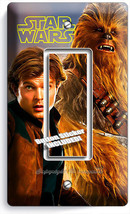 A Star Wars Han Solo Story Chewbacca Falcon Pilot 1 Gang Gfci Light Switch Plate - $8.99