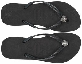 Havaianas Women'S Slim Flip Flop Sandals, Crystal Poem - $49.54+