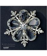 Signed Eisenberg Ice Large Snowflake Pin (#J1351) - $225.00