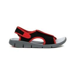 Nike Big Kid's Sunray Adjust 4 Sandal NEW AUTHENTIC Red/Black 386518-005 - $23.99