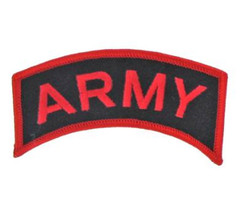 US ARMY MOTORCYCLE BIKER PATCH - $6.86