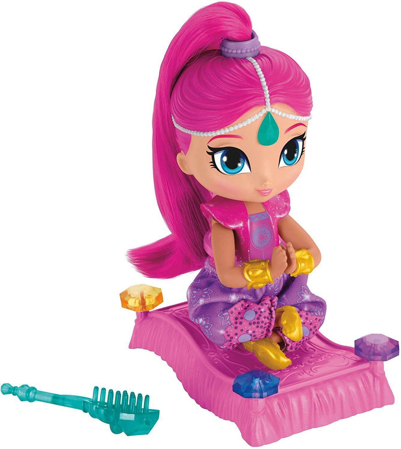 Shimmer and Shine Floating Genie - Shimmer Doll Playset - FHN29 - NEW