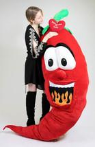 Custom Personalized Giant Stuffed Hot Chili Pepper 6 Feet Tall , Custom Imprinte - $117.21
