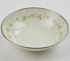 Noritake Ivory China Coupe Cereal Bowl Cornelia Pattern 7572 Vintage Floral - $6.99
