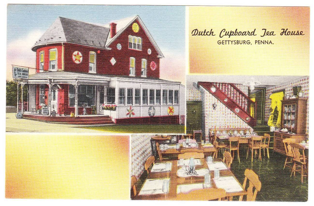 Pc dutch cupboard tea house gettysburg pa