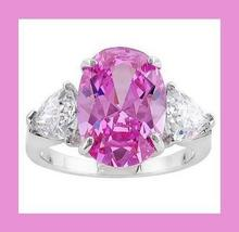 1 pink   white cz ring large thumb200