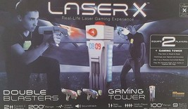 NEW Laser x Gaming Tower with Double Blasters and Receiver Vests - $49.99