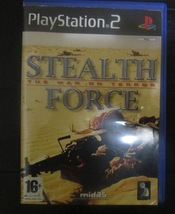 STEALTH FORCE-THE WAR ON TERROR (PS2)  - $11.00