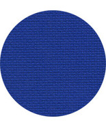 18ct Royal Xmas Blue Aida 36x25 cross stitch fa... - $22.50