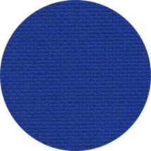 18ct Royal Xmas Blue Aida 18x25 cross stitch fabric Zweigart - $11.25