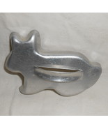 Vintage MIRRO Aluminum Easter Bunny Cookie Cutter - $9.95