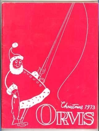 Orvis 1973 Xmas catalog sporting collectibles clothes game advertising