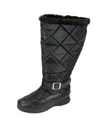 FIC PEERAGE Tammy Women Wide Width Leather/Nylon Inner Fleece High Boot - $80.95