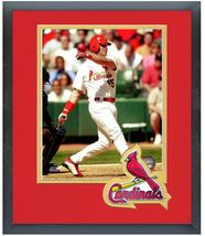 Jim Edmonds 2005 St. Louis Cardinals -  11 x 14 Team Logo Matted/Framed ... - $43.55