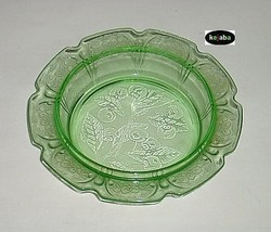 Cherry Blossom Green Butter Dish Bottom no. 2 J... - $8.95