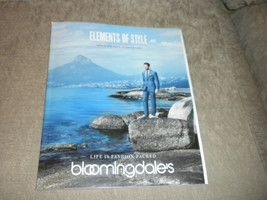 Bloomingdale's March 2014 Men's Spring Fashion Accessories catalog comp ... - $9.85