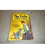 vintage p'rback The Exile by Pearl Buck UK Pan Books X259 1963 1st GG /A... - $17.99