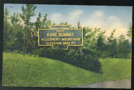 Kane PA Kane Summit Allegheny Mountains Pennsylvania Vintage 1941 Postcard - $4.99